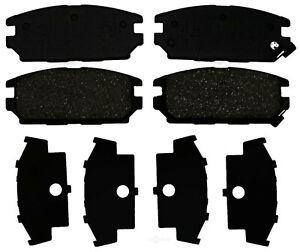 Disc Brake Pad Set-Organic Disc Brake Pad Rear ACDelco Pro Brakes 17D532