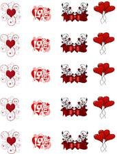 Valentine Bows & Balloons  Waterslide Nail Decals/Nail art