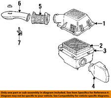 Jeep CHRYSLER OEM Grand Cherokee Air Cleaner Intake-Hose Tube Duct 53009268