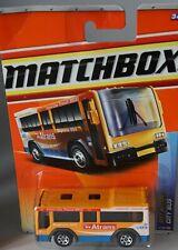 Matchbox 87/100 City Bus still sealed to a Blister