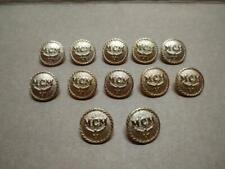 MCM Clothes Sewing Buttons Set of 12 (B560)