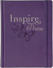 Inspire PRAISE Bible NLT (2017, Hardcover)