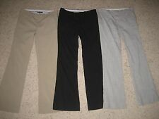 Gap Womens Hip Slung Fit Dress Pants Size 0 ~~Lot of 3~~