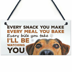 Dog Signs For Home Funny Dog Lover Gift House Kitchen Sign Animal Dog Gift