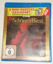 Die Schöne und das Biest Diamond Edition  3D und 2D  Blu Ray NEU Disney