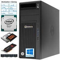 HP Z440 Workstation Xeon E5-2637v3 ✅ 16GB ram ➕ 1000GB SSD HDD ➕ Graphic