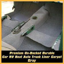 40cm x 2M Grey Car Interior Felt Trim Trunk-liner Tray Carpet Mat Noise Control