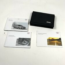 2008 Audi A5 Owners Manual with Case