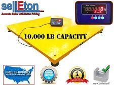 "NEW Industrial 60"" x 60"" (5' x 5') Pallet Floor Scale / 10,000 lbs x 2 lbs"