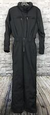 Descente Womens Gray Snow Ski Suit One Piece Full Body Size 8
