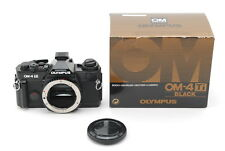 [NEAR MINT]Olympus OM-4TI Black 35mm SLR Film Camera Body Only From Japan