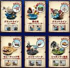 Bandai One Piece 1/144 World Scale Set of 6 Going Merry Diorama figure