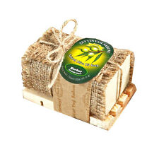 Korkut Olive Oil Soap with Wooden Dish 180g 6.35oz
