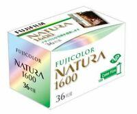 FUJIFILM 1600N 36EX NATURA 1600 Fuji Fujicolor 35mm Color Film 4902520268747