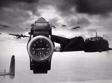 Olma 2.WK Military Deutsche Reichsluftwaffe Flieger Piloten Dienstuhr um 1935