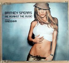 Madonna & Britney Spears - Me Against the Music - 4 track CD single Germany