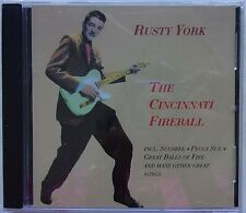 RUSTY YORK - CD - The Cincinnati Fireball - BRAND NEW