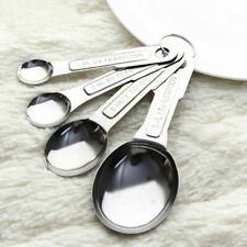 Measuring Cups Spoons Tool Stainless Steel 1/2/5/15ml 4pcs/Set Kitchen Scale Fad