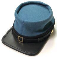 CIVIL WAR CSA CONFEDERATE INFANTRY EARLY WAR KEPI FORAGE CAP HAT-XLARGE