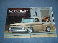 """1965 Chevy C10 Step-Side Pickup RestoMod Article """"In The Bluff"""""""