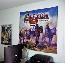 SAXON Crusader HUGE 4X4 BANNER poster tapestry cd album heavy metal band