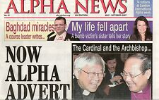 Alpha News UK Edition May - October 2007 No. 41 Newspaper