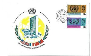 GB 1965 20th Anniverary of the United Nations set on illustrated First Day Cover