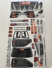 HPI Racing Trophy Truggy 4.6 Decal Sheet For Body