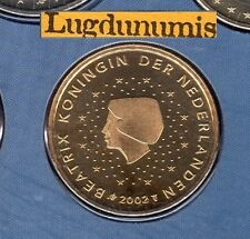 Pays Bas 2002 - 50 Centimes D'Euro  FDC provenant coffret 105000 exemplaires