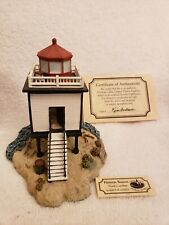 Harbour Lights 537 Hatteras Beacon Nc Lighthouse, Coa, Box Society Excl c.2002