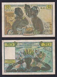 Institut d'Emission de l'A.O.F. et du Togo 5 francs 1956 BB/VF Pick-45  A-10