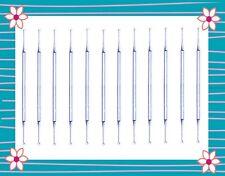12 Pc  Excavator Cleoid Discoid 89/92 DE Dental Instrument  Stainless Steel
