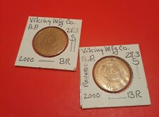 Vintage Magic Coin/Token(s) Viking Mfg 28.3 S . 2000 Br.