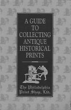 A Guide to Collecting Antique Historical Prints by Christopher W. Lane (1995)