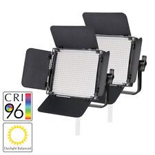 Pixapro ® Leco 500 S II giorno bilanciate LED Luce Video Foto Studio Kit TWIN