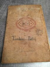 Collection De Timbre Petit Carnet Année 40 France Suisse Monde