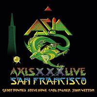 ASIA Axis XXX Live San Francisco JAPAN 2 CD with bonus track + 1 BONUS CD