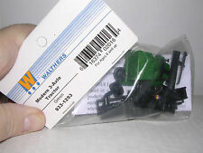 "WALTHERS #1293  Kenworth T-600 ""Green"" 10 Wheel Cab  Plastic Kit  ""H.O.Gauge"""