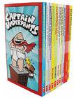 Captain Underpants 10 Books Collection Set Dav Pilkey Children Books Gift Pack