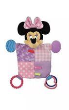 "Disney Baby Minnie Mouse Plush Teether Blanket, 12""  plush"