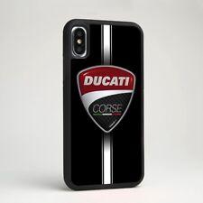 Ducati Corse Racing Motor Car Logo TPU Silicone Case Cover for iPhone