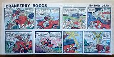 Cranberry Boggs by Don Dean - full color Sunday comic page - August 26, 1945