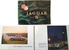 Jaguar S-Type 3.4 & 3.8 Litre 1964-67 Original Prestige Spiral Bound Brochure