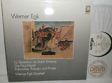 WER 60133 Werner Egk la Tentation De Saint Antoine etc