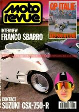 MOTO REVUE 2896 SUZUKI GSX-R 750 R GT 750 SBARRO BMW K1 Grand Prix d'Italie 1989