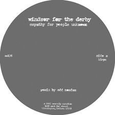 "Windsor For The Derby Empathy People Unknown 12"" Vinyl Record non lp odd nosdam+"