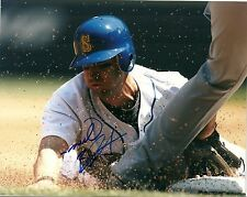 WILLIE BLOOMQUIST SEATTLE MARINERS SIGNED AUTOGRAPHED 8x10 PHOTO W/COA