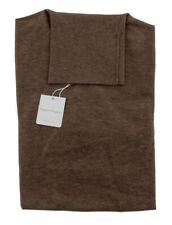 Cashmere Blend Brown Roll Neck Sweater