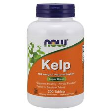 Now Foods Kelp 150 mcg - 200 Tablets FRESH, FREE SHIPPING, MADE IN USA