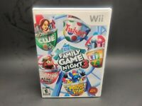 NEW NEW Hasbro Family Game Night 3 (Nintendo Wii, 2010) ***NO SCRATCHES***